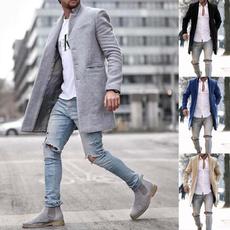 soidcolor, Fashion, Long Coat, winter coat