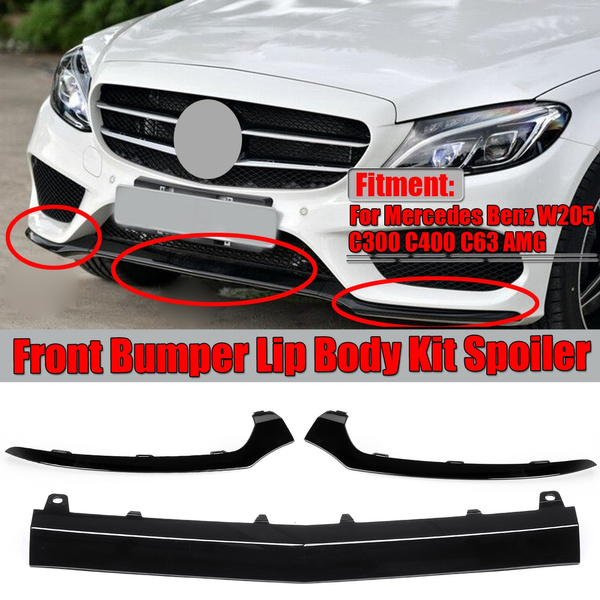 Front Bumper Lower Lip Chrome Trim Right For Mercedes Benz W205 C300 C400 C63