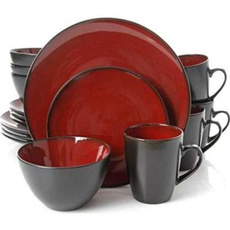 dinnerwareset, Dinnerware, Tableware, Red