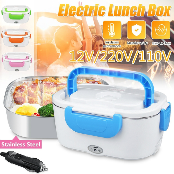 40W 1.5 L Portable Electric Lunch Box Food Storage Container Heater 110//220V