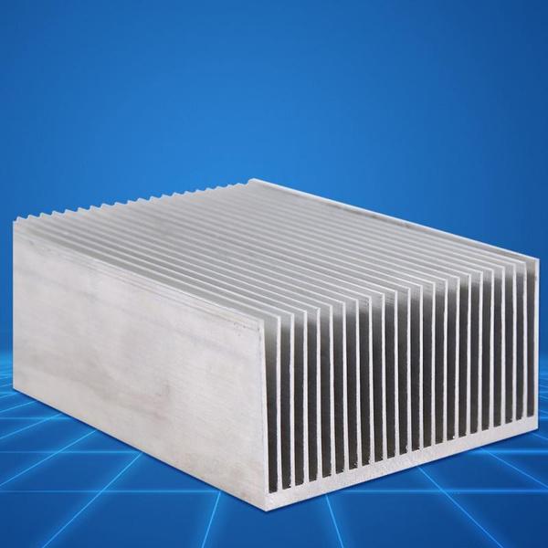 1pc Aluminum Heatsink Heat Sink Cooling for Led Amplifier Transistor IC Module 1006936mm