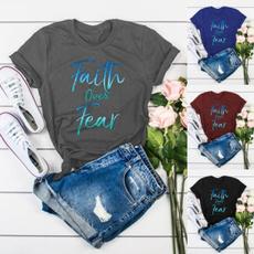 Summer, faithtshirt, cottontee, Shirt