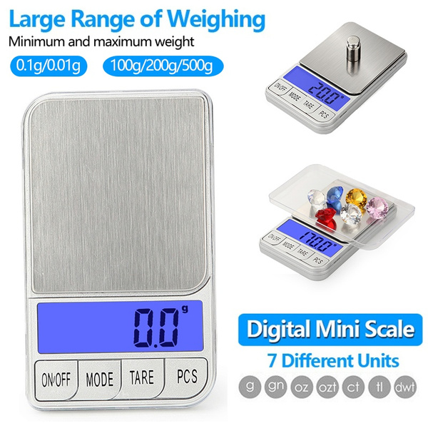 Mini Pocket Digital Jewellery Scale Weighing Scale 0.01g to 100g Jewellery Scale