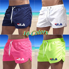 Summer, Beach Shorts, Colorful, menswimshort