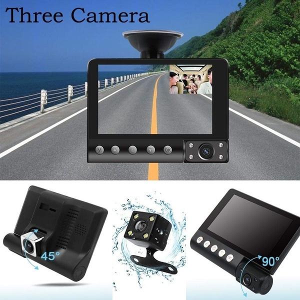 Dash Camera for Cars 1080P FHD Car Camera,Dash Cam Front and Rear170/° /&120/° Wide Angle Lens,Waterproof Backup Camera,G-Sensor Loop Recording Motion Detection,WDR,Parking Monitor
