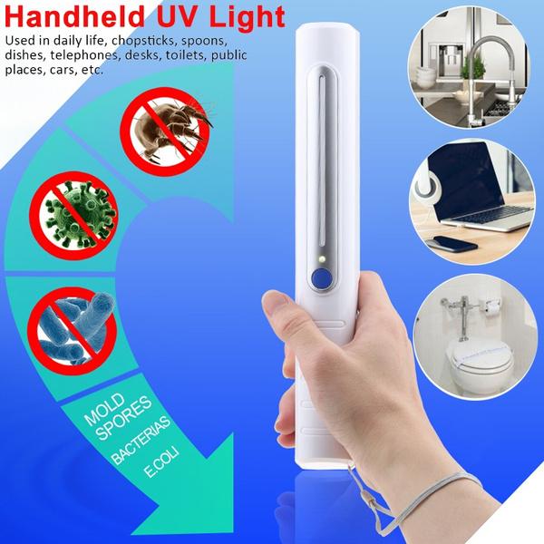 Handheld Uv Light Sterilizer Portable Ultra Uv Uv Germicidal
