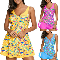 bathing suit, summer dress, Halter, Mini