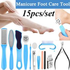 Manicure Pedicure Set, hardskinremover, Health & Beauty, Foot Care