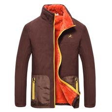 Jacket, Fleece, Outdoor, Tank