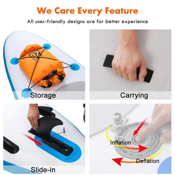 allpurposesinglelayersurfboard, singlelayersurfboard, adjustablepaddle, Inflatable