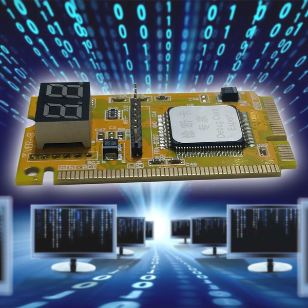 Mini 3 in1 PCI PCI-E LPC PC Laptop Analyzer Tester Diagnostic Post Test Card