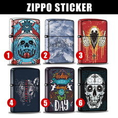 Cigarette Lighter, Stickers, Lighter, Zippo