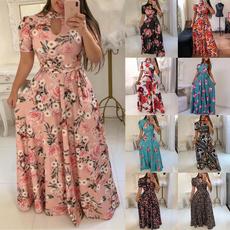 vestidoscasuale, plaid, Print Dresses, Sleeve