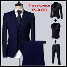 slim, Blazer, Slim Fit, men suit