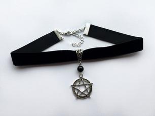 Goth, velvet, Jewelry, blackvelvetgothicchoker
