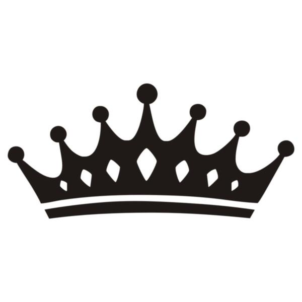 Princess Queen Crown Wall Decals