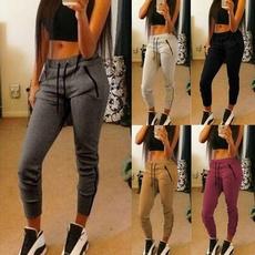 Fashion, Spring/Autumn, Casual pants, women jogging