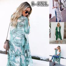Summer, kimonosforwomen, women beachwear, chiffon