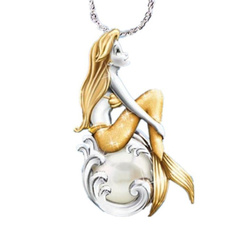 mermaidnecklace, womannecklace, Jewelry, Gifts