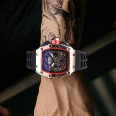 richardmille, quartz, fashion watches, Metal