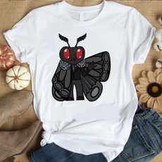 Funny, Fashion, mothman, Tops