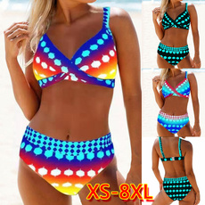 Plus Size, bikini set, beach wear, Swimwear