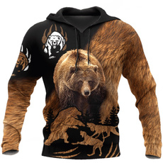 3D hoodies, Fashion, Hunting, Casual Jackets