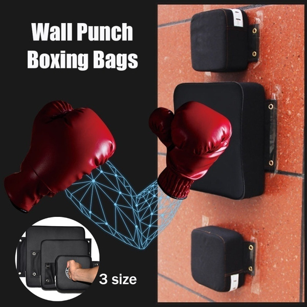 Punch Wall Target PU Pad WING CHUN Boxing Fight Sanda Taekowndo Training Bag