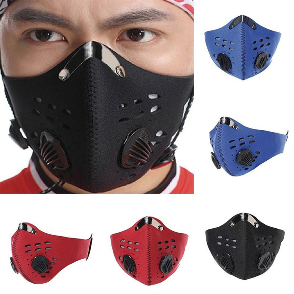 masque running anti pollution
