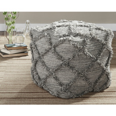ottoman, Living Room Furniture, tufted