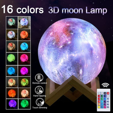 3dmoonlamp, Remote Controls, Home Decor, Gifts