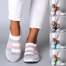 casual shoes, knitshoe, Sneakers, Sports & Outdoors