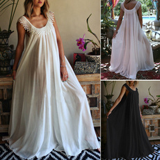 Summer, summer dress, long dress, homeweardres