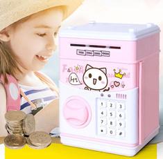 cute, piggybank, moneypot, Mini