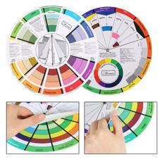 colorwheel, tattoo, Beauty, nailchromatography
