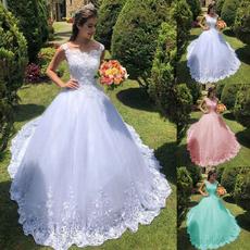 gowns, Plus Size, Lace, long dress