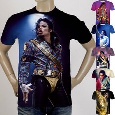 shortsleevestshirt, poptshirt, Sleeve, michaeljackson3dtshirt