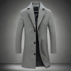 dust coat, Men, Outerwear, Long Coat