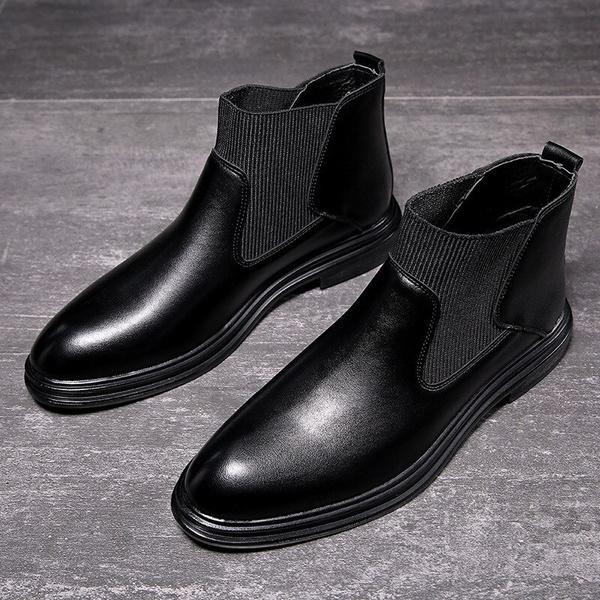 Men S Fashion Chelsea Boots Business