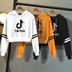 Casual Hoodie, pullover hoodie, tiktoksweatshirt, Long Sleeve