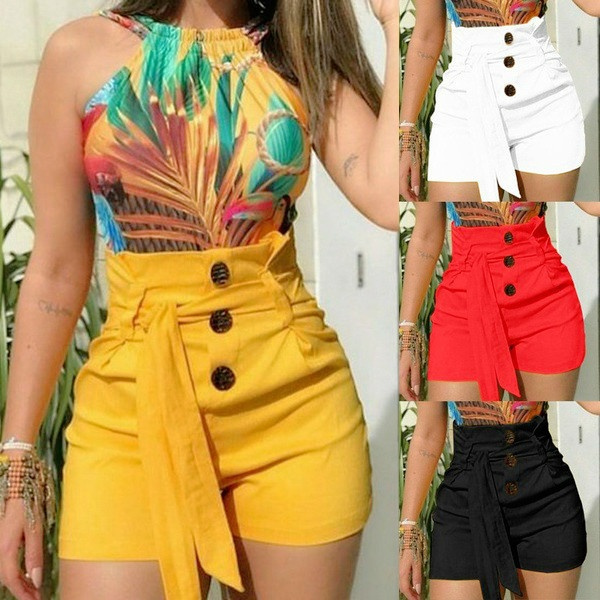 Summer, Shorts, Waist, Bottom