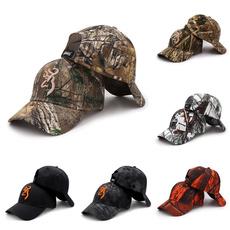 Summer, Moda, camouflagebaseballcap, casquettehat