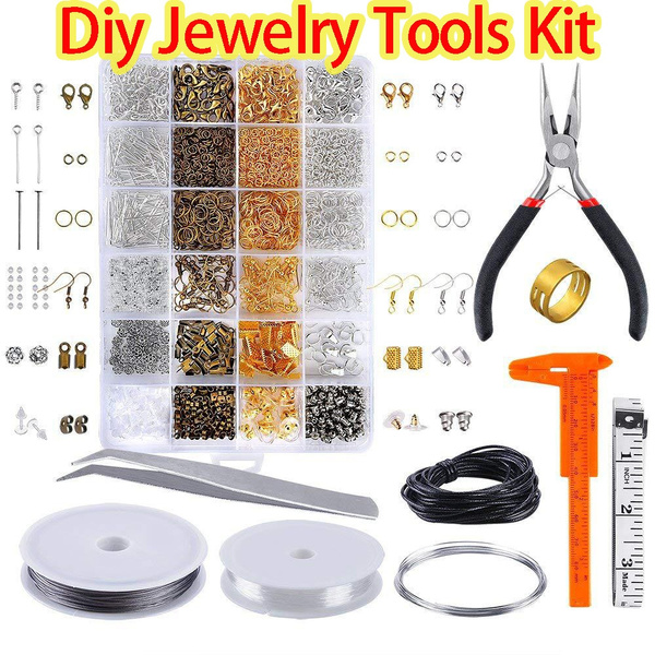 Jewelry Making Supplies Kit with Jewelry Tools Jewelry Wires and Jewelry Findings
