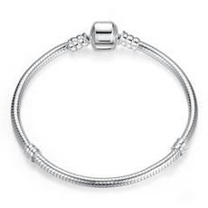 Sterling, Charm Bracelet, Woman, Genuine