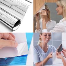 PVC wall stickers, Bathroom, Makeup, Home Decor