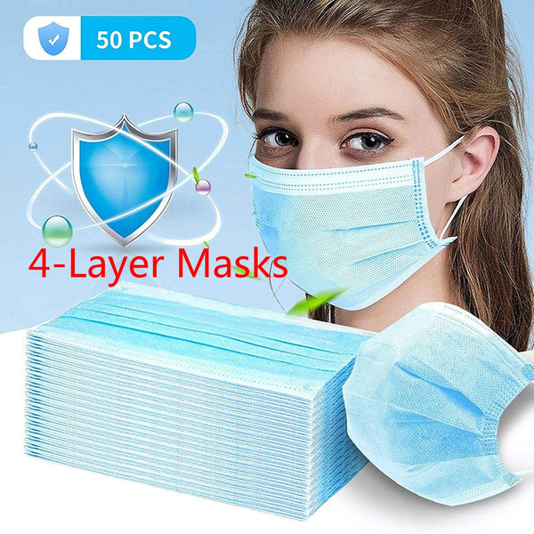 50 pcs disposable face mask