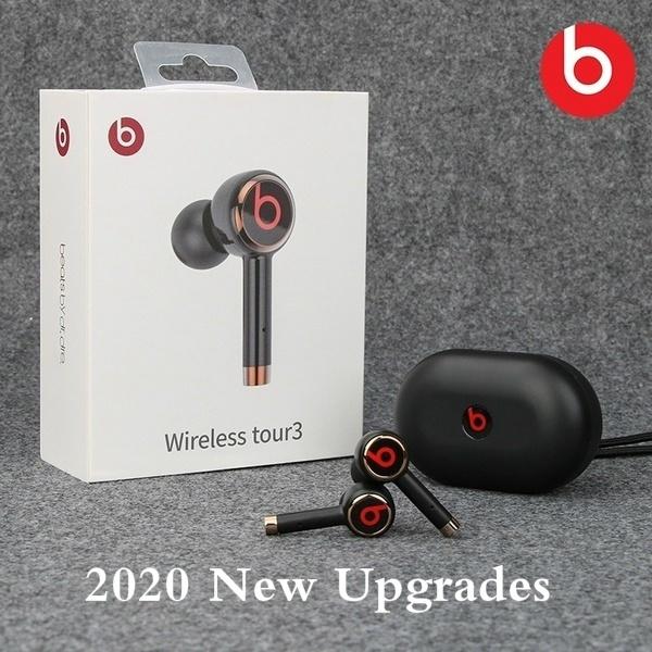 2020 New Upgraded Beats Tour 3 Tws True Wireless Earbuds Bluetooth Earphones Headphone With Charging Case For Ios Android Pk Beats Studio 3 Solo3 Wireless Headphones Wish