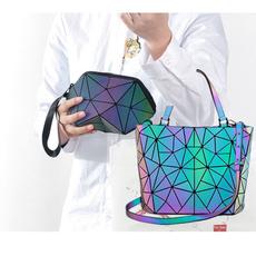 Shoulder Bags, Holographic, Party Evening Bag, Wallet