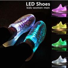 ledsneaker, ledshoe, Sneakers, Fiber