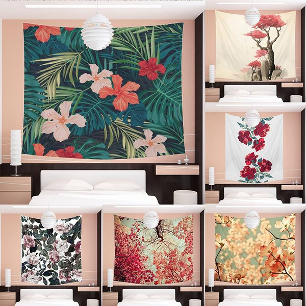 Unique 3d Color Printing Flower Living Room Decoration Wall